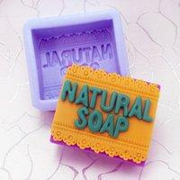 candle mold silicone - Nicole H0084DIY rectangular silicone mold soap soap soap oil soap candle molds Food grade silicone