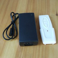 Wholesale White Three Buttons Wireless Remote Controller Universal V A Power Adapter Control Box Unit for TV Lift Cabinet Linear Actuator Up Down