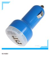 ac adaptor car charger - 2 Port Mini USB Vehicle Auto Car Charger Adaptor USB Car Charger Car Charger Adapter Universal Mobile Phone CEC_603