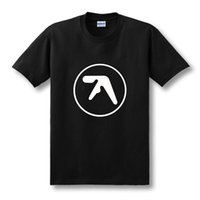 aerosmith t shirts - Fashion New Mens Aphex Twin T Shirt Popular Brand Aerosmith Tshirts Printed O Neck Music Short Sleeve Top Tees