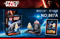 Wholesale 867A H New Star Wars Minifigures Kylo Ren BB R5 D4 Classic figures Collection Children Gift toys Building Blocks hot