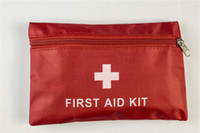 Wholesale Useful Sets First Aid Kit For Outdoor Travel Sports Emergency Survival Indoor Or Car Treatment Medical Bag xyb004
