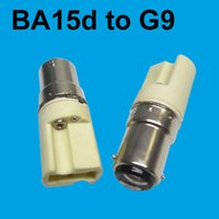bayonet base lamps - Double contact bayonet candelabra BA15d B15 B15d convert to G9 base converter adapter connecter holder for lamp Bulb