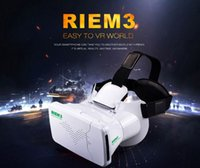 ar videos - RITECH III VR Virtual Reality Headset D Glasses With AR Google Cardboard Movie Video Game Glasses for to inch Smartphone VR box
