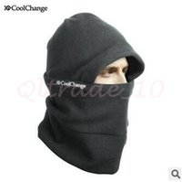 Wholesale 50pcs LJJC2948 Candy Color Warmer Multi function Thermal Fleece Balaclava Hood Police Swat Wind Stopper Masks Outdaoor Cycling Caps Masks
