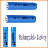 Wholesale Promotion pair TrustFire V mAh Rechargeable Battery with PCB Protected Board Consumer Electronics