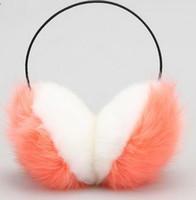 Wholesale Super cute earmuffs and winter earmuffs imitation rabbit ear plush earmuffs warm earmuffs