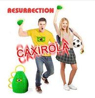 cheer gifts - BRAZIL World Cup Caxirola Football fans cheering horn props Soccer fans trumpet gift top sale