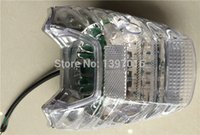 motorcycle spare parts - NXR150 Integrated Motorcycle Tail Lights Transparent Spare Parts