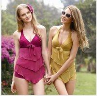 Cheap 2015 New Sexy Swimsuit skirt set swimwear skirt Bikini elastic Bathing Suits For Women swimwear TY43
