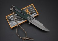 Wholesale Camping knife fast open knife Cr13MOV HRC blade Tactical Tools hunting Utility outdoor gear knife gift B290L