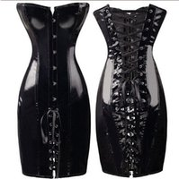 Wholesale New Style Best Sell Women Sexy Party Body Corset Bustier Crop Top Showgirl Sexy Lack Leder corsage Corset Top