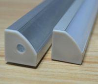 aluminum flashlight profile - 10set led aluminium profile for led bar light led strip aluminum channel aluminum housing
