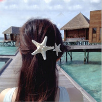 Wholesale Designer Seashell Starfish Girls Hair Clip Accessories For Wedding Head Pieces Bridal Headpieces Bridesmaid Ladies Prom Fascinator Headdress