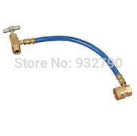 Wholesale R134a A C Automotive Air Conditioning Supplementary Tube Recharge Hose AC A Hose Recharge Measuring Tool Kit Ba401 Brand New order lt no