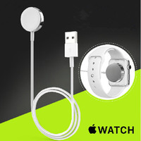 Wholesale USAMS Apple Watch Wireless Charger Magnetic Contact Charging Cable Data Line USB for iwatch in Retail Box