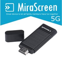 Wholesale 5G Wi Fi Display Receiver MiraScreen OTA TV Stick Dongle DLNA Airplay Miracast Airmirroring Chromecast for Android Windows IOS