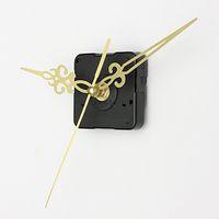 Wholesale Gold Hands DIY Quartz Black Wall Clock Spindle Movement Mechanism Repair Parts