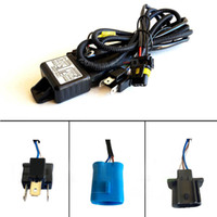 Wholesale 12V W HID Hi Lo H L Bi Xenon Relay Harness Wiring Controller w Fuse Set G0714