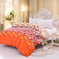 Wholesale home textile duvet cover cotton comforter cover bed cover quilt cover pc set rainbow villa town cm not include comforter