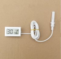 Wholesale Digital LCD Hygrometer Temperature Humidity Meter Thermometer C RH