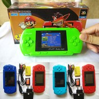 Wholesale New PVP Handheld Game Console inch PVP Station Bit Video TV Game Player Retail Box Free Game Card