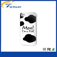 For Apple iPhone Plastic White china factory cheap Painted phone case wholesale mobile phone case for iphone4 with free shipping