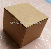 Wholesale Size cm Square Kraft paper packaging box for cosmetics