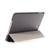 back drop - Ultra Thin Case For Ipad Air Mini With Wake Sleep Function Hard Back Case Leather Cover Apple Smart Cover