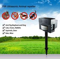 Snakes animal motion detector - Ultrasonic Pest Animal Repeller PIR Motion Detector Repellent Mouse Dog Cat Rats