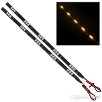avalon cars - 1 pair of W Waterproof Flexible Car LED CM Strips Light with x Chip SMD LED CEC_459