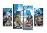 Cheap 4 Panels markets Painting Canvas Wall Art Picture Home Decoration Living Room Canvas Print Modern Painting