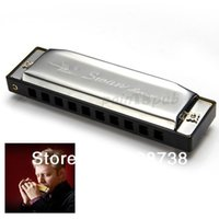 Wholesale Silver Holes Diatonic Blues Harp Harmonica Key of C Music Toy