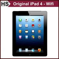 Wholesale Grade A Original iPad iPad4 quot Retina Display iOS A6X Apple Tablet GB GB GB WIFI Warranty Included Retail Box Accessories
