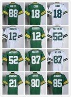 packers jersey - Cheap Packers Aaron Rodgers Jordy Nelson Clay Matthews Randall Cobb Donald Driver Jersey American Football Jerseys