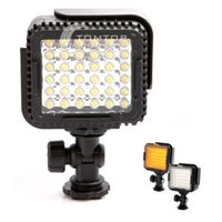 Wholesale CN LUX360 LEDs LED Video Light Camera Photo Lamp for Canon Nikon Camera Video Camcorder K K