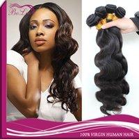 human hair ponytail - Unprocessed peruvian virgin hair Body Wave Hair Weft bundles Body Wavy Peruvian Human Hair natural human hair Weaves ponytail