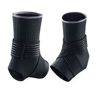 Wholesale Protect the Ankle Gear Diving Material Bind Basketball Ankle Support Set Winding Black Jacquard Movement Protect Ankle Sports Safety Ankle