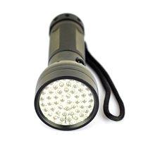 Cheap 51LED UV Purple Light Black Flashlight Best Mini Counterfeit Detector