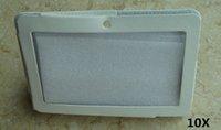 Wholesale 10X colorful quot flip leather case for Q88 Allwinner A13 Q88 A23 A33 ATM7021 ATM7029 tablet pc protect skin PT