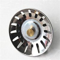 Wholesale 2014 New Kitchen Accessorioes Stainless Steel Sink Strainer Waste Disposer Plug Drain Stopper Filter