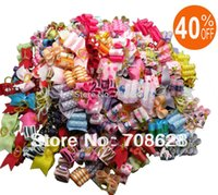 dog grooming bows - Value Package PC Handmade Pet Hair Accessories Dog Hair Bows Cat Mixed Bows Grooming Supplies OFF