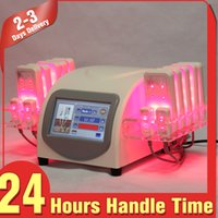 beauty pads - Hot Sale Body Slimming mw Diode Lipo Laser Cellulite Reduction Spa Beauty Equipment with Pads