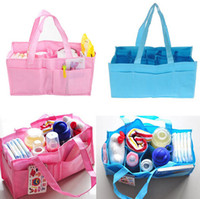 Wholesale Mummy bag bottle storage multifunctional Separate bag Nappy Maternity Handbag baby Tote Diaper Organizer