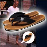Wholesale 2015 HOT Korean men summer sandals slippers rubber fashion beach flip flops geometric slippers sandals men color