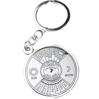 advertising calendars - 3D Manufacturers selling calendar key personality compass key chain ornament advertising gift couples can be customized