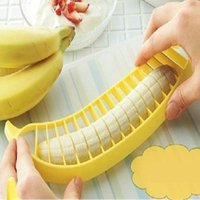 fruit cutter - Hot Selling Fruit Cutter Tools Banana Slicer Chopper Cutter for Fruit Salad Kitchen Tools New
