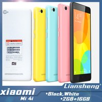 Wholesale Original Xiaomi Mi4i Mi i G LTE Dual SIM Mobile Phone quot x1080P Octa Core GB RAM MP Android Lollipop