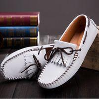 Cheap men shoes casual Best genuine leather shoes men