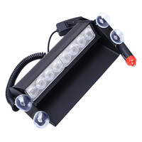 Precio de Emergency light-La alta calidad 8 LED de alta potencia luces estroboscópicas Bombero intermitente de emergencia Advertencia carro del coche Fuego Motor Light Truck Car Luz ámbar blanco